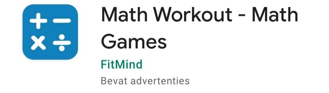 MathWorkout